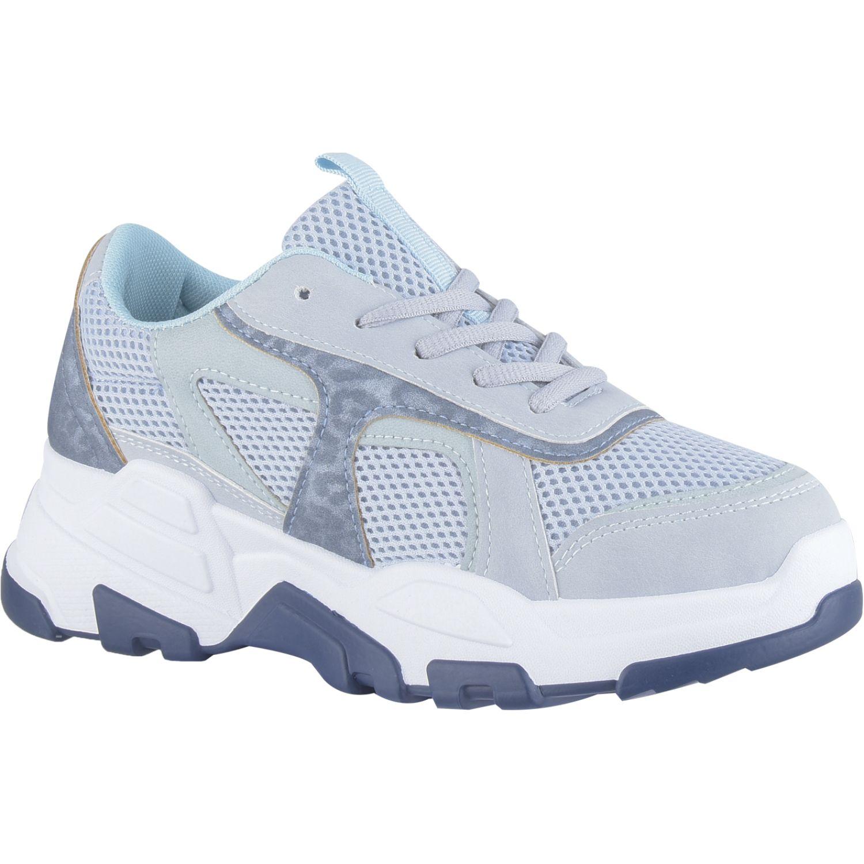 Platanitos Z 1101 Azul Zapatillas de moda