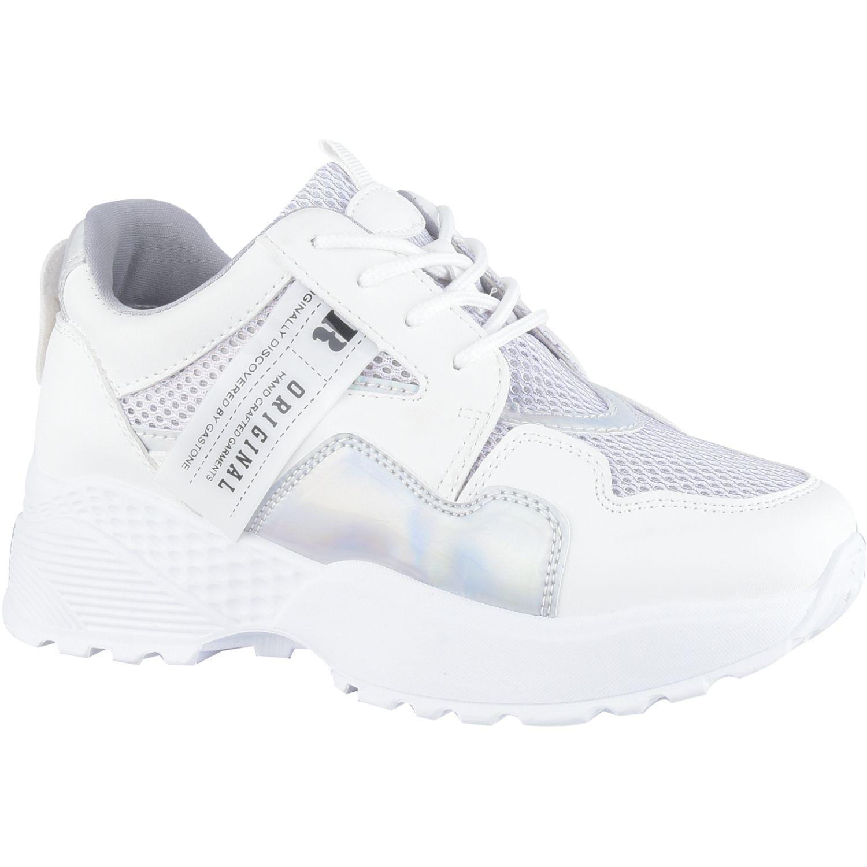 Platanitos Z 0061 Blanco Zapatillas de moda