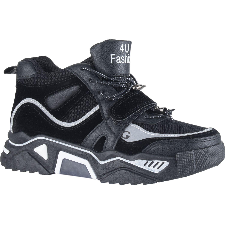 Platanitos Z 635 Negro Zapatillas de moda