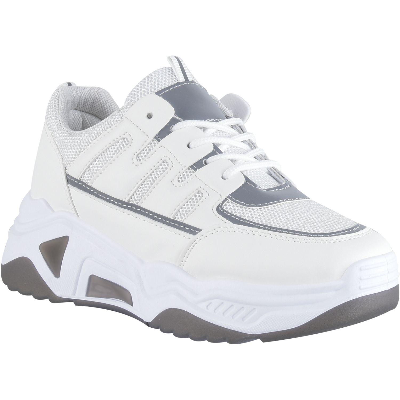 Platanitos Z 3026 Blanco Zapatillas de moda