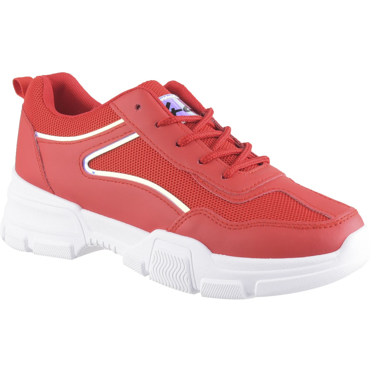 Platanitos z 120 Rojo Zapatillas Fashion