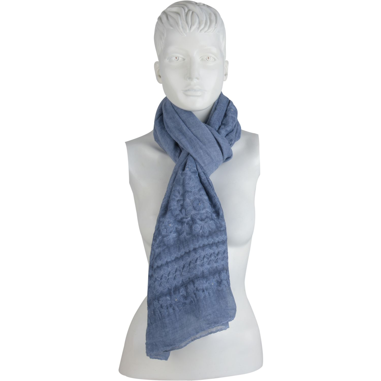 Platanitos 1022024 Azul Bufandas de moda