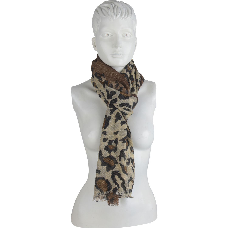 Platanitos 1022037 Leopardo Bufandas Fashion