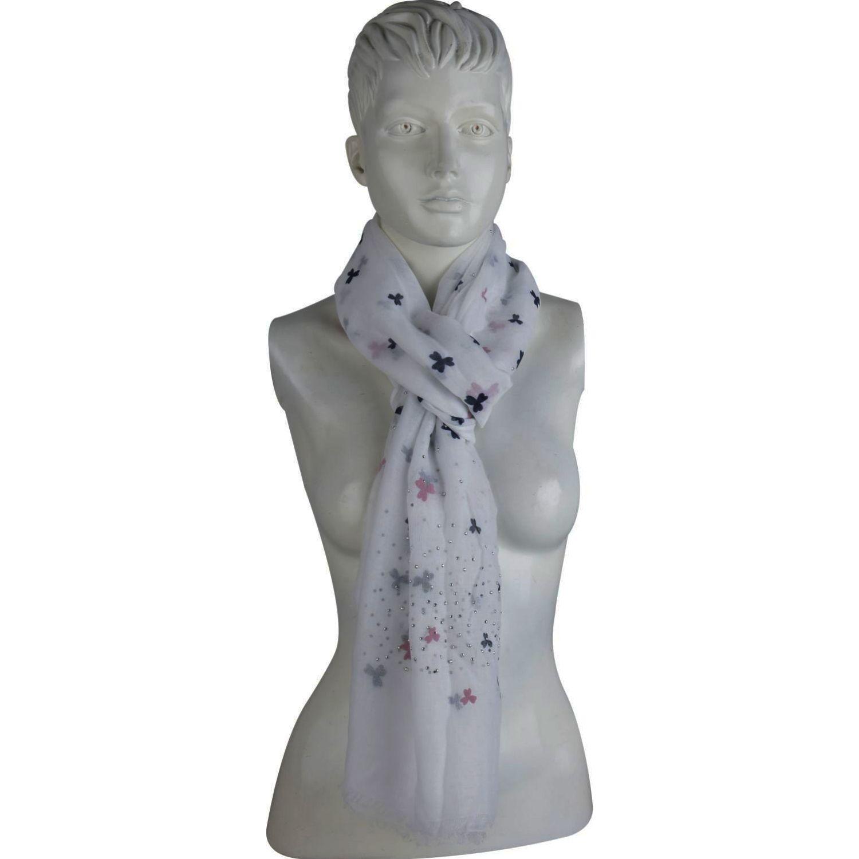 Platanitos 1022019 Blanco Bufandas de moda
