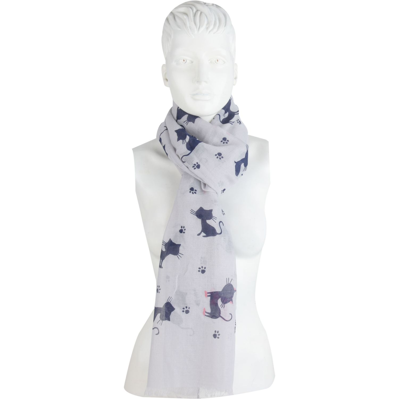 Platanitos 1022054 Gris Bufandas Fashion