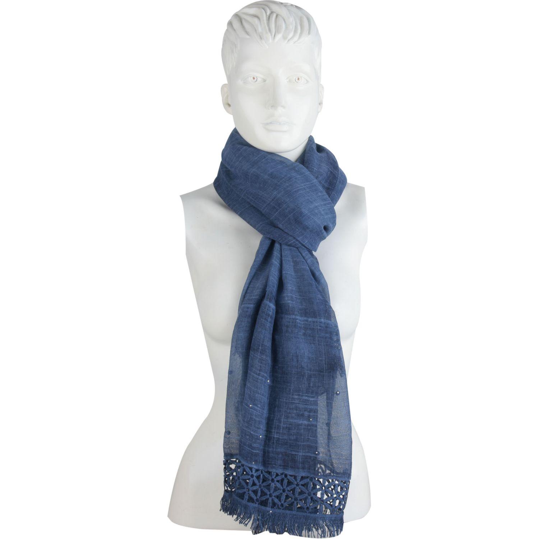Platanitos 1022046 Azul Bufandas de moda