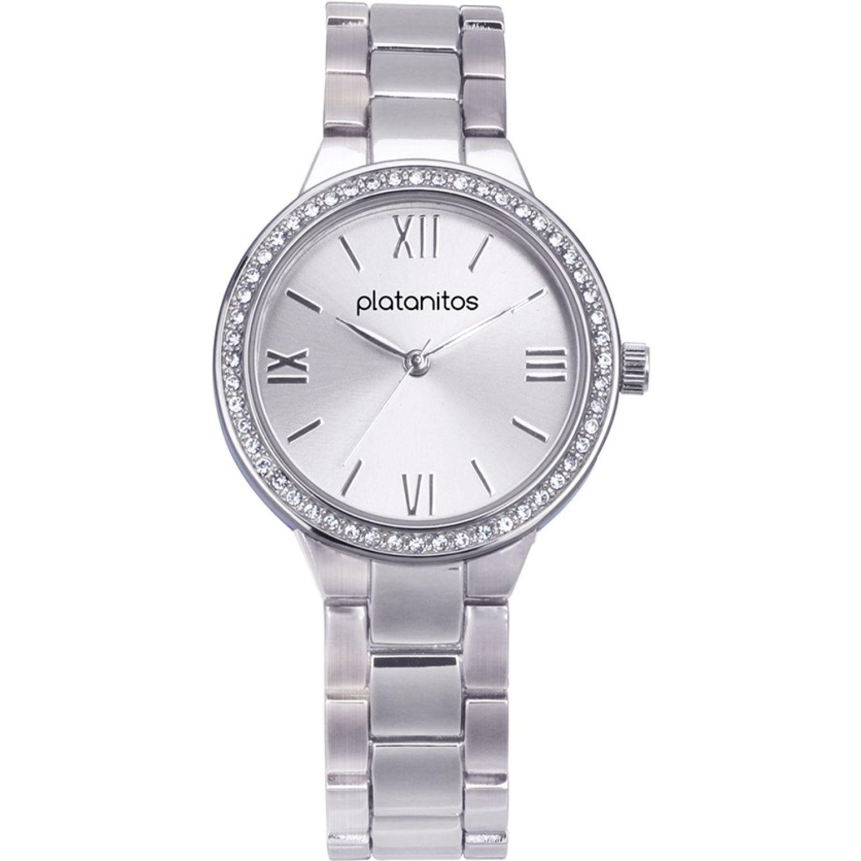 Platanitos W40321 Plateado Relojes de Pulsera