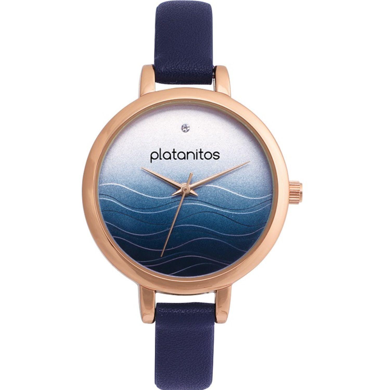 Platanitos W40247 Azul Relojes de pulsera