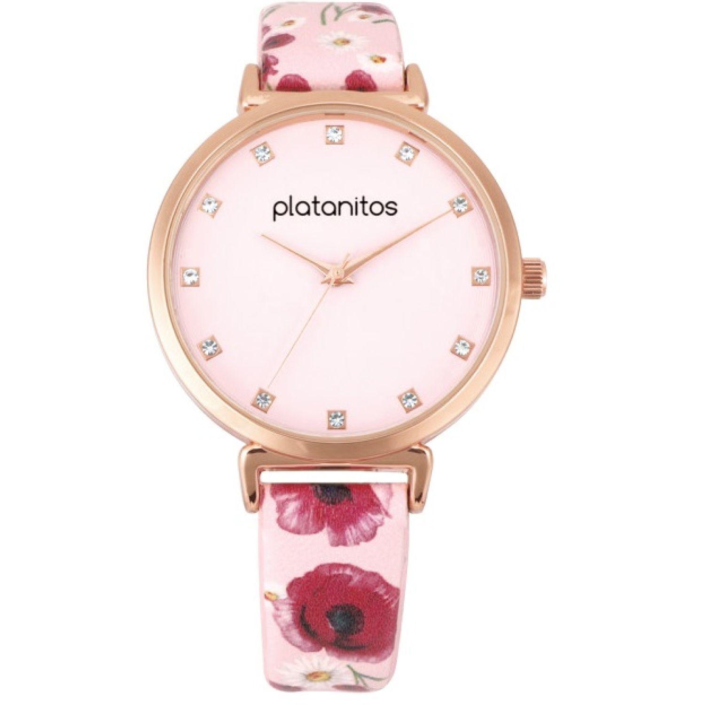 Platanitos W40493 Rosado Relojes de pulsera