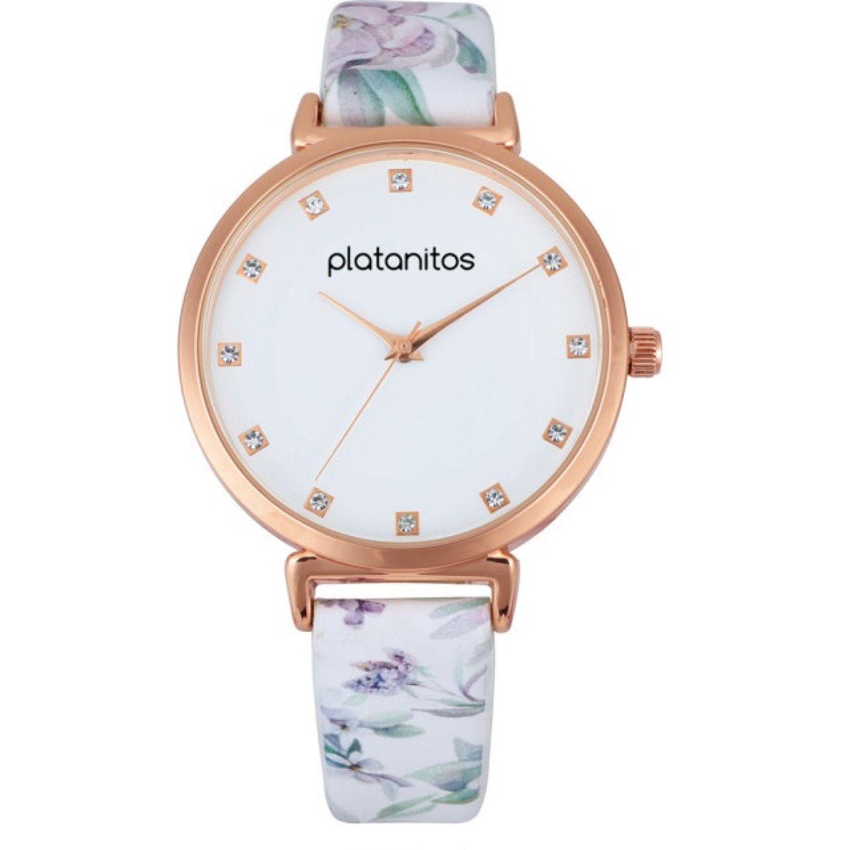 Platanitos W40493 Blanco Relojes de pulsera