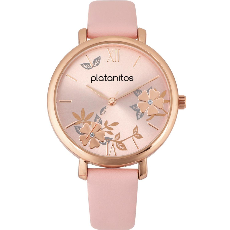 Platanitos W40199 Rosado Relojes de pulsera