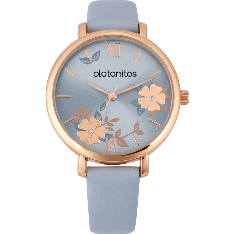 Platanitos W40199 Celeste Relojes de pulsera