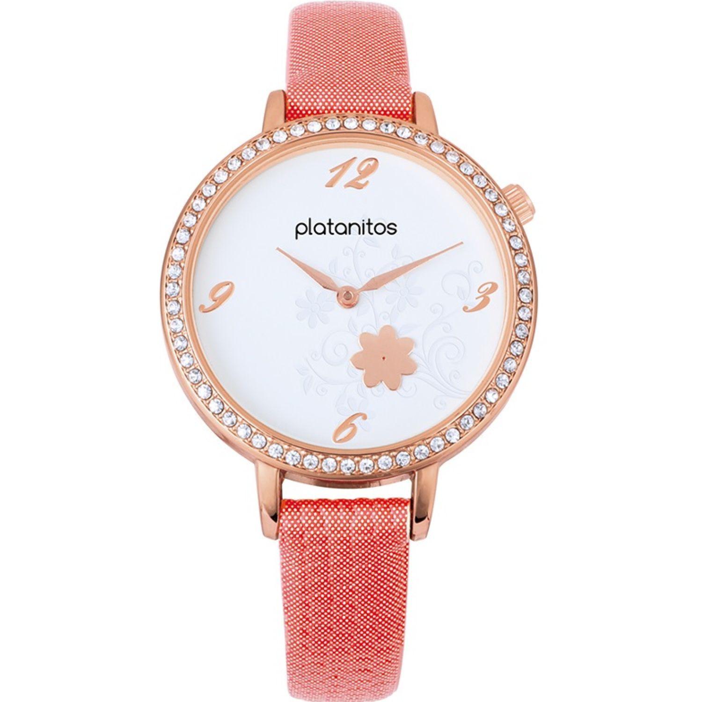 Platanitos W40514 Coral Relojes de pulsera