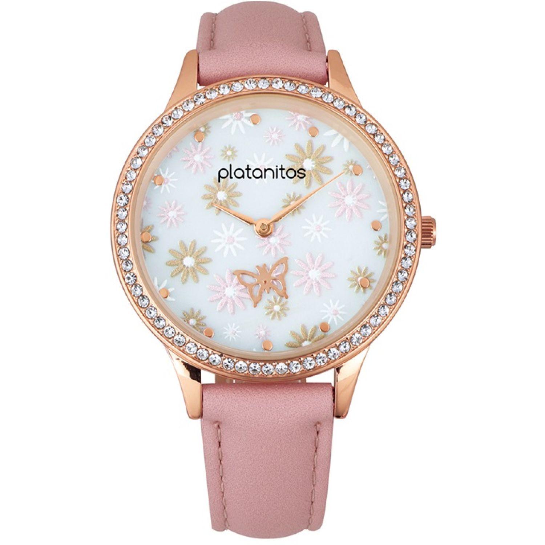 Platanitos W40485 Rosado Relojes de Pulsera