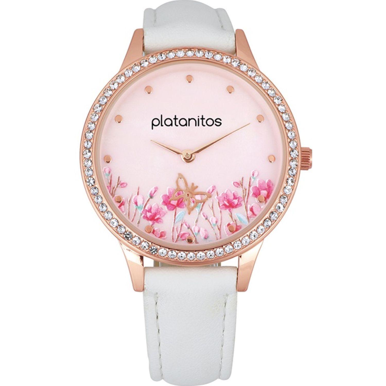 Platanitos W40485 Blanco Relojes de pulsera