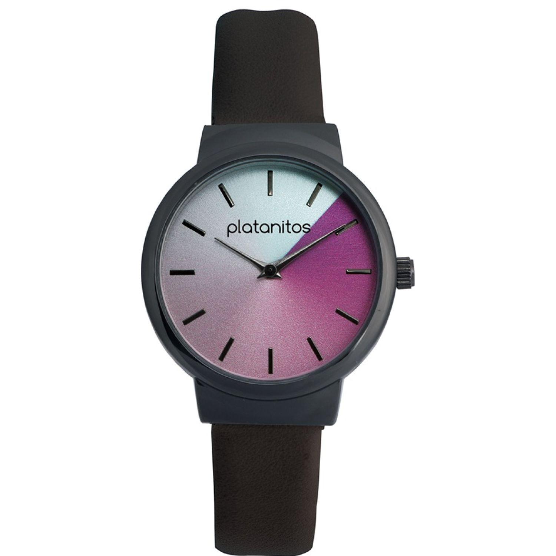 Platanitos W40191 Negro Relojes de pulsera