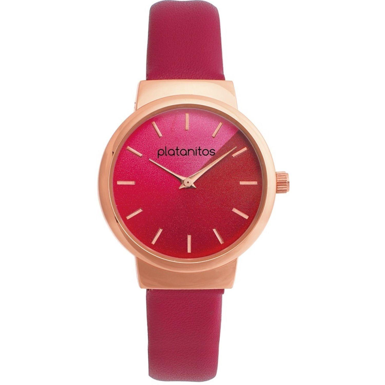 Platanitos W40191 Rojo Relojes de pulsera