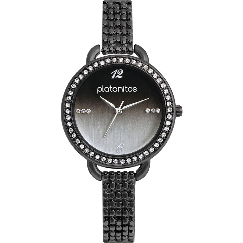 Platanitos W40337 Negro Relojes de pulsera