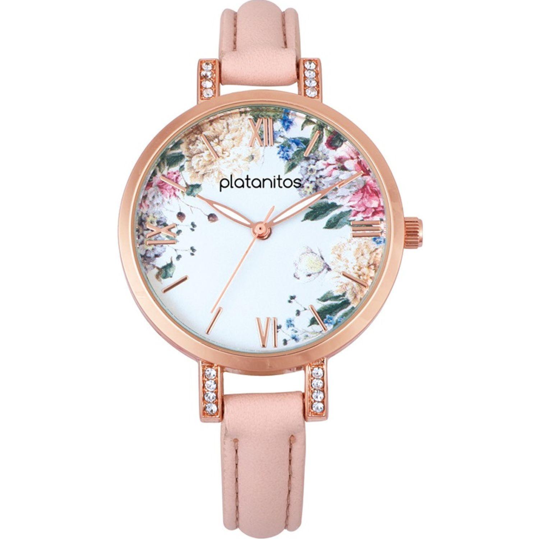 Platanitos W40286 Rosado Relojes de pulsera