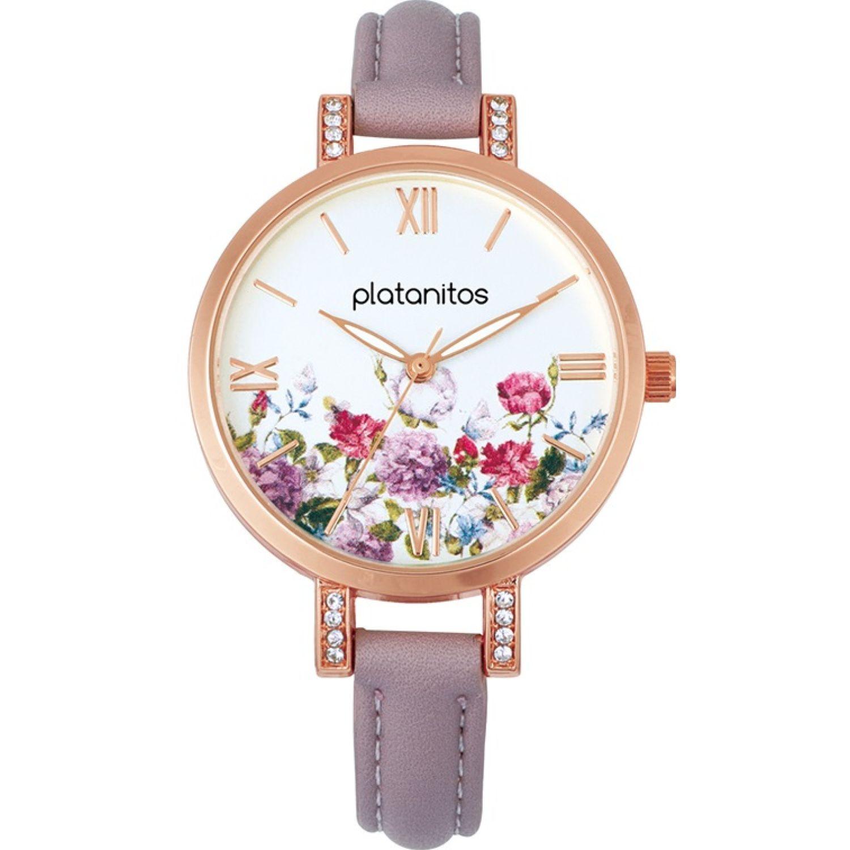 Platanitos W40286 Lila Relojes de pulsera