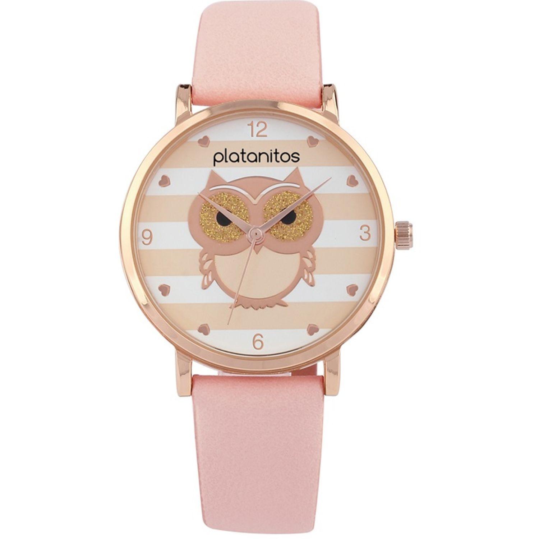 Platanitos W40046 Rosado Relojes de pulsera
