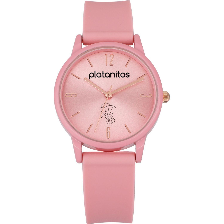 Platanitos Reloj Dama W40541 Rosado Relojes de pulsera