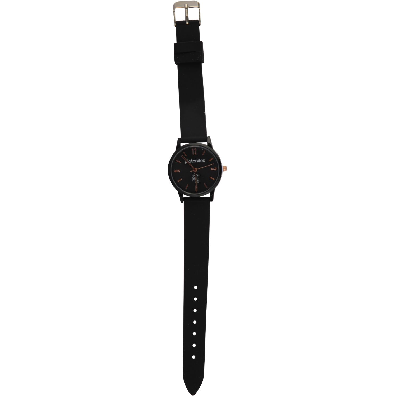 Platanitos Reloj Dama W40541 Negro Relojes de pulsera