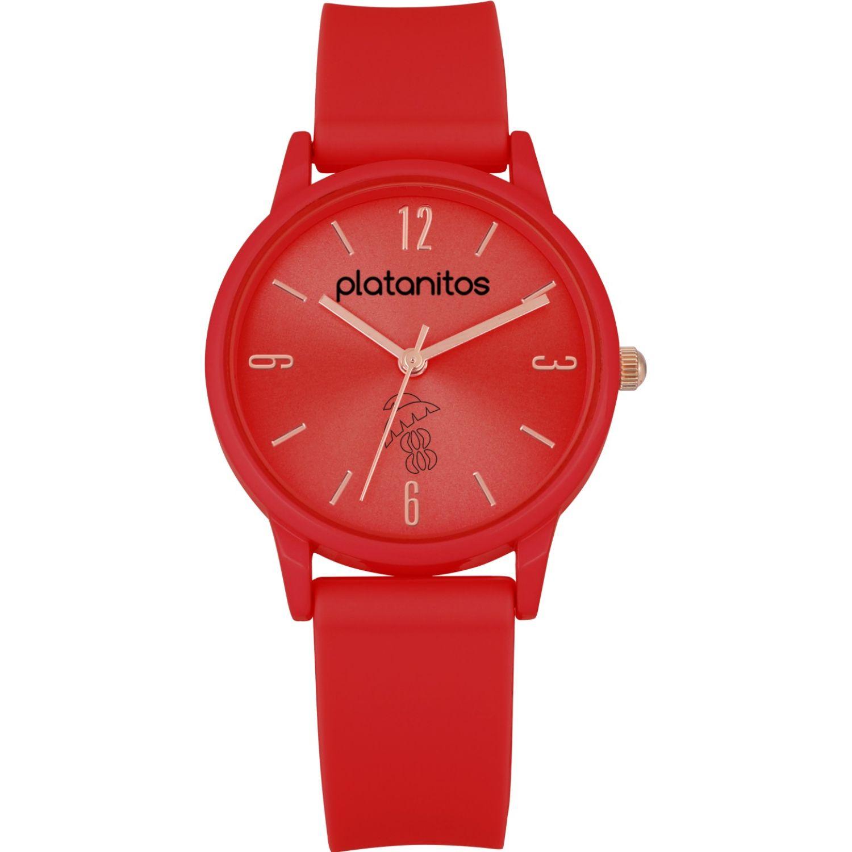 Platanitos Reloj Dama W40541 Rojo Relojes de pulsera