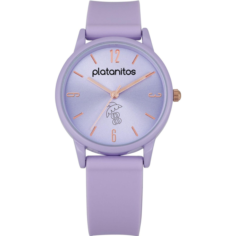 Platanitos Reloj Dama W40541 Lila Relojes de pulsera