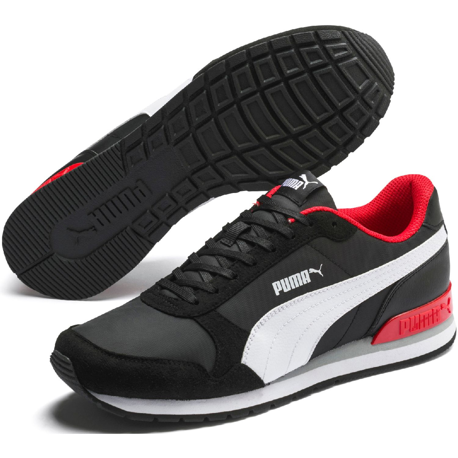 Puma st runner v2 nl Negro / rojo Walking