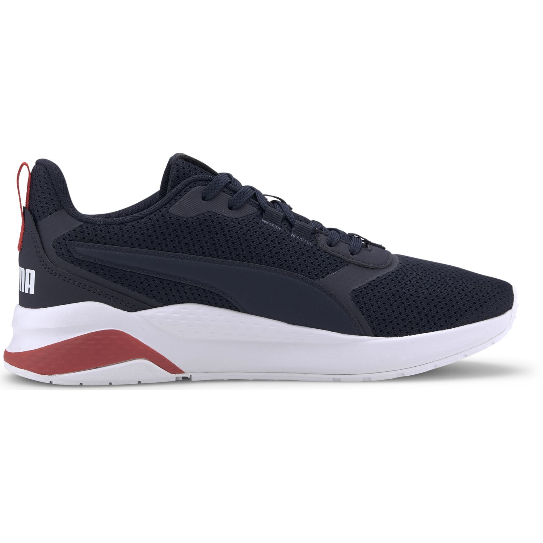 Puma anzarun fs Navy / Blanco Running en pista