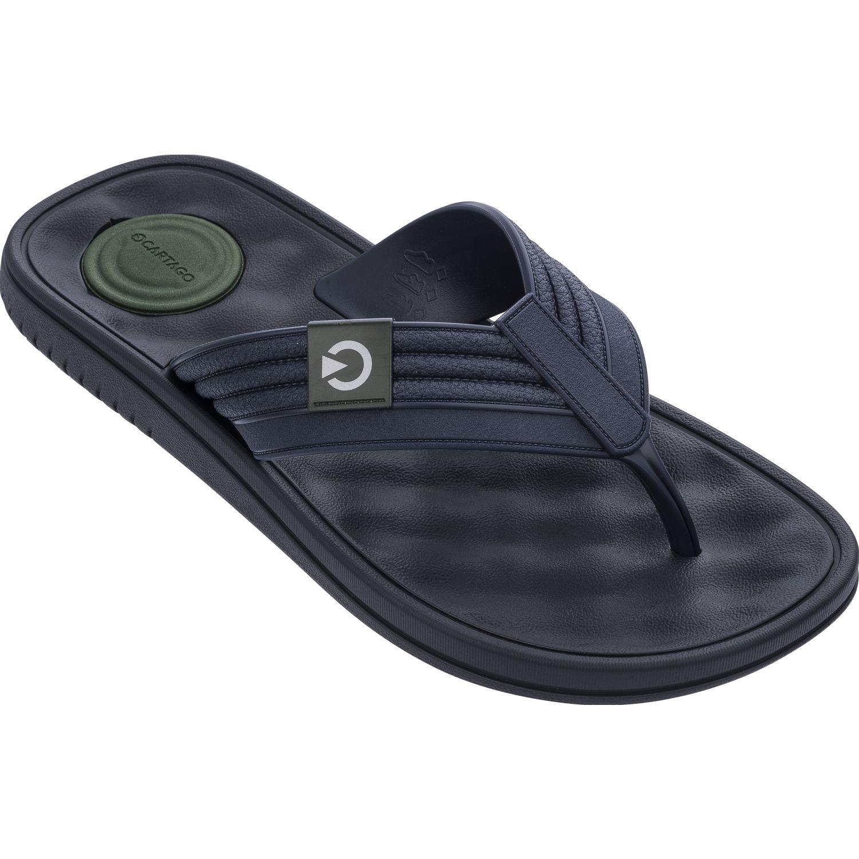 Cartago egeu dedo ad Azul Sandalias deportivas y slides