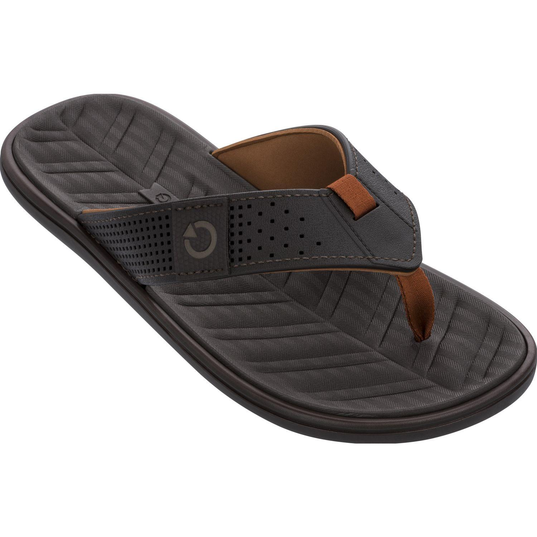Cartago cartago malta iv dedo ad Negro / marrón Sandalias deportivas y slides