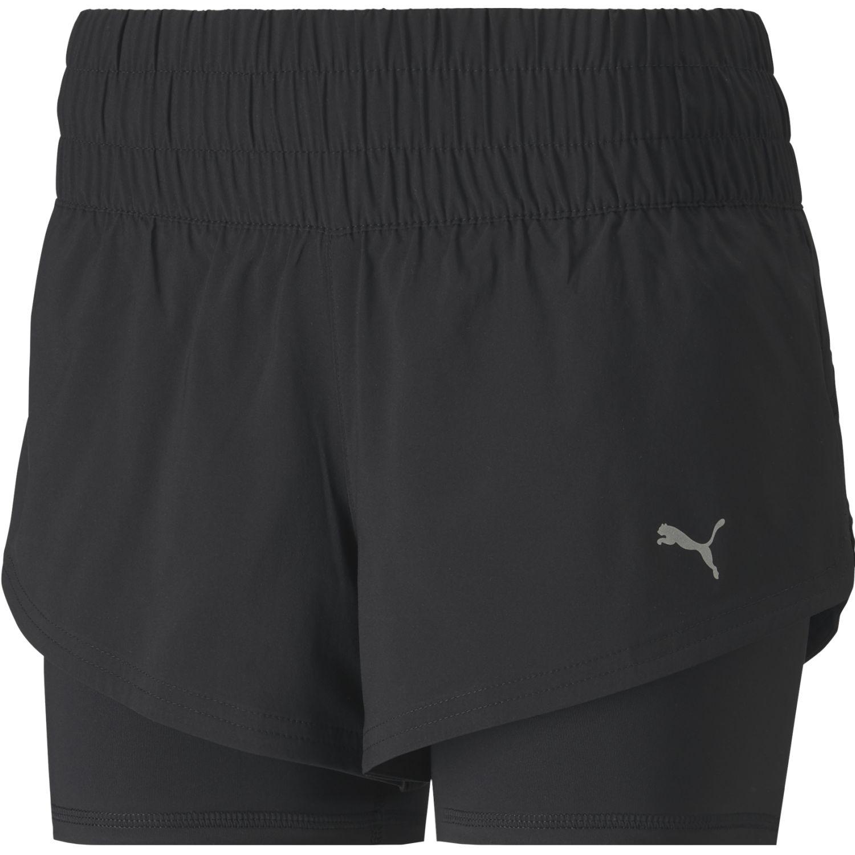 Puma Last Lap 2in1 Short Negro Shorts deportivos