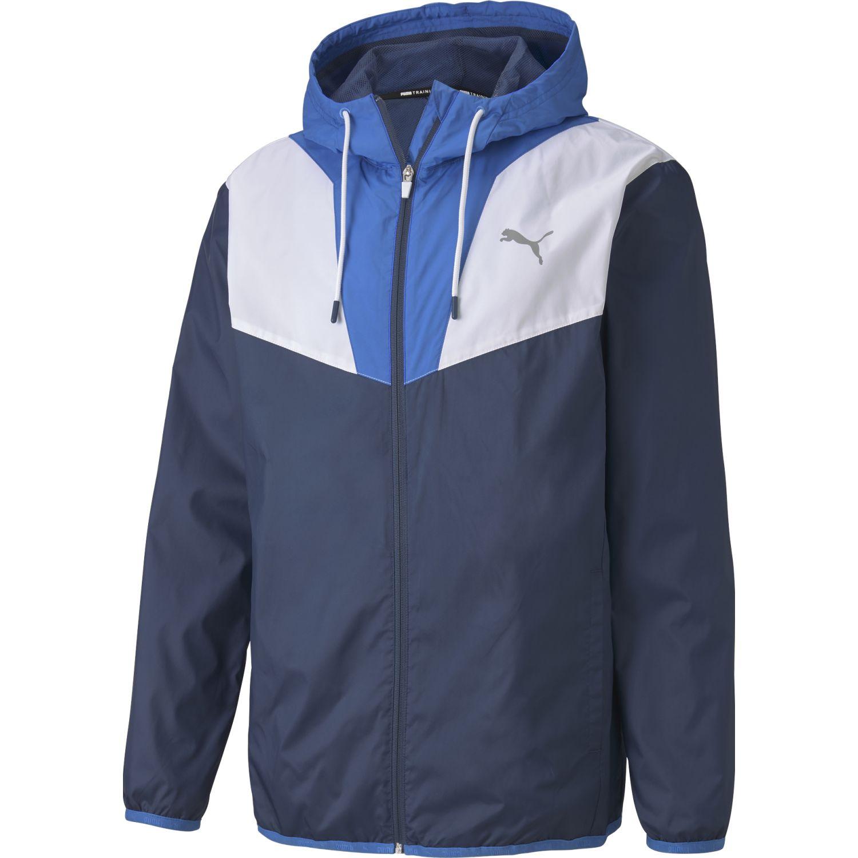 Puma reactive woven jacket Navy / Blanco Casacas de Atletismo