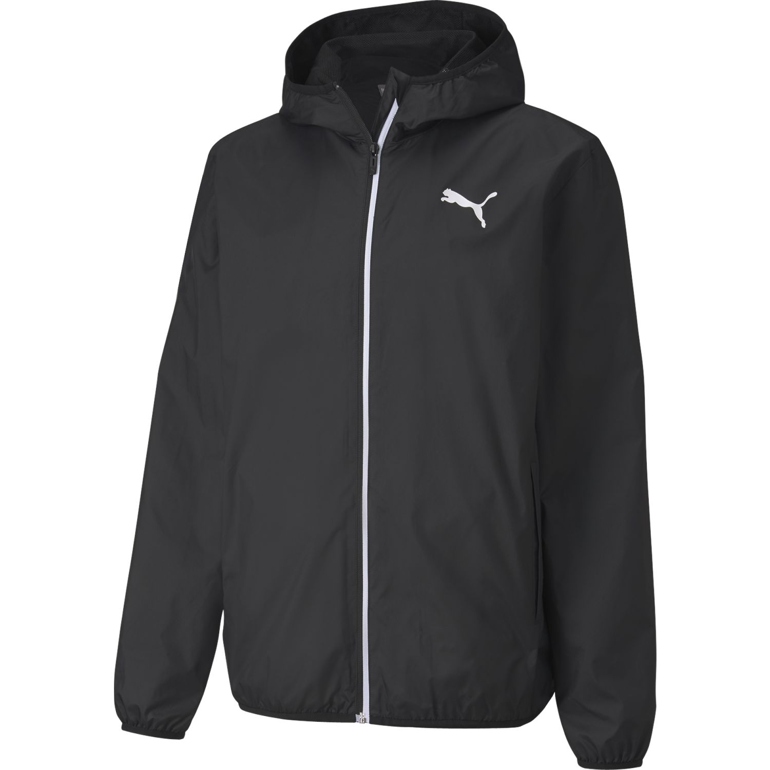 Puma essentials solid windbreaker Negro Casacas de Atletismo