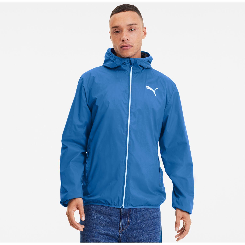 Puma essentials solid windbreaker Azul Casacas de Atletismo