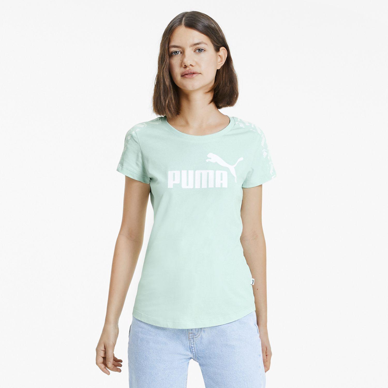 Puma amplified tee Verde Polos