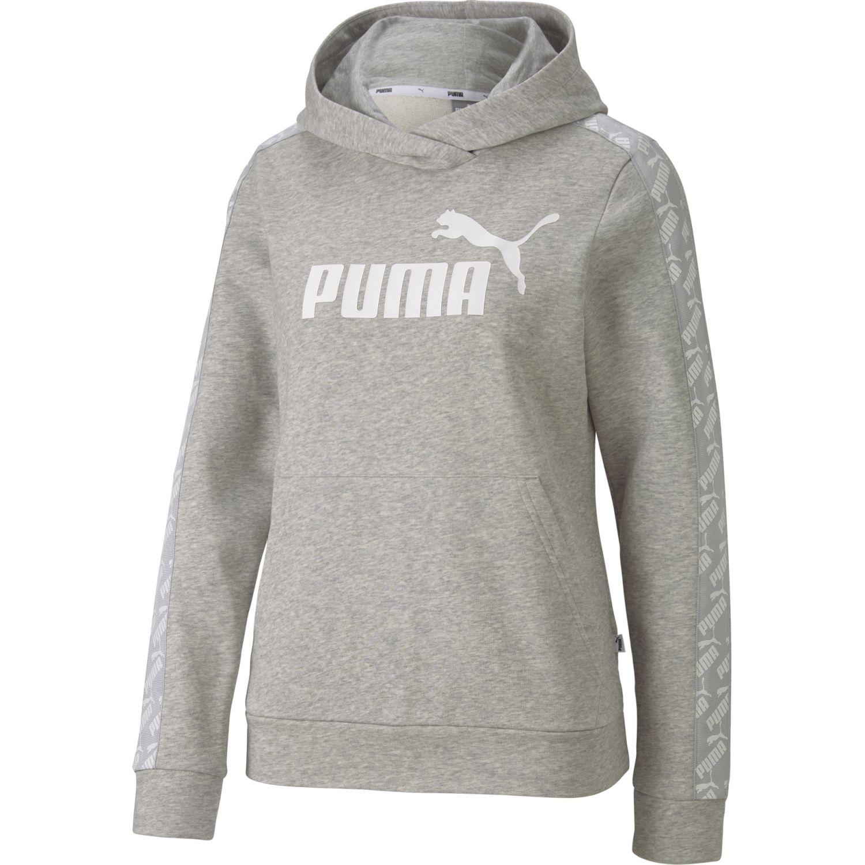 Puma amplified hoody tr Gris Hoodies Deportivos