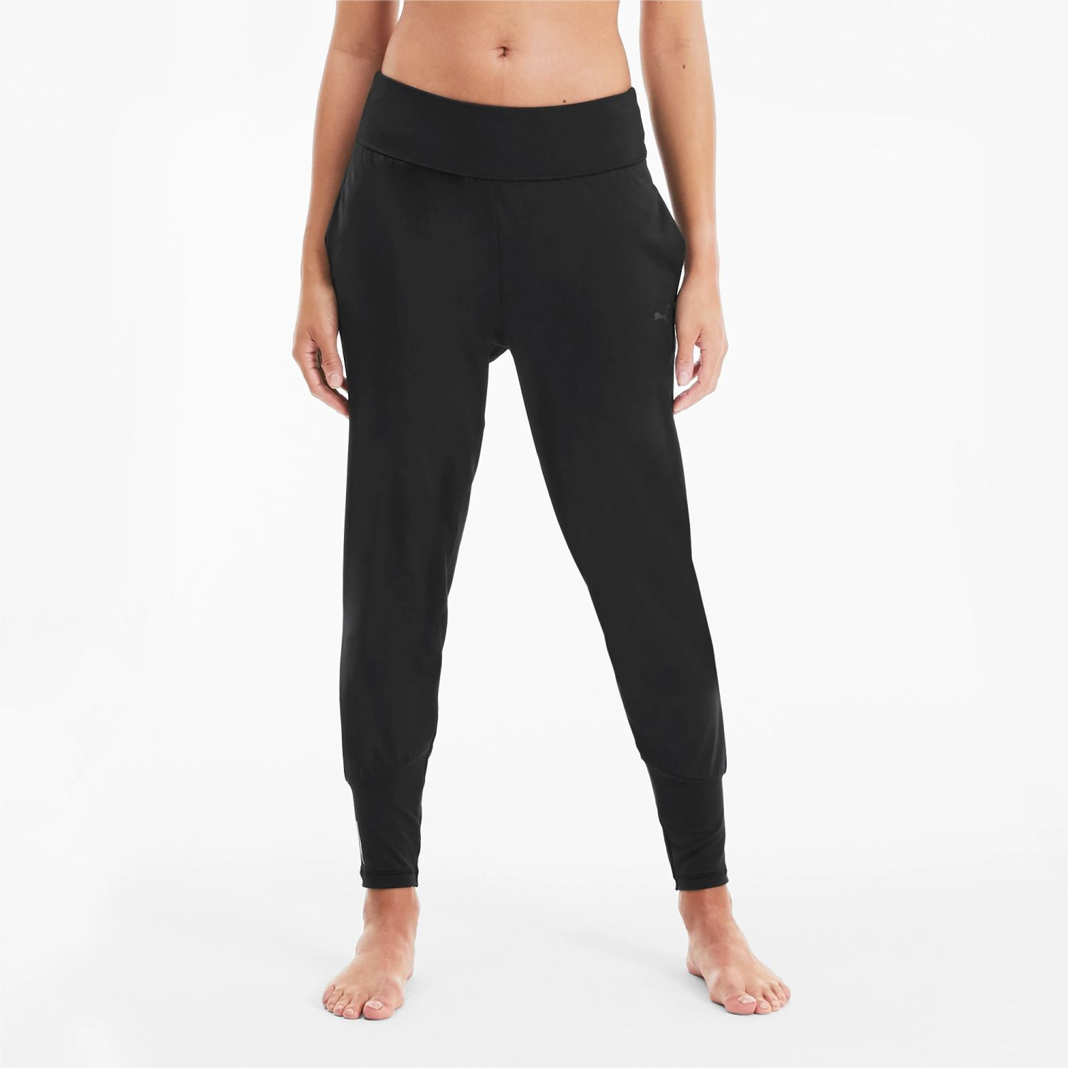 Puma studio tapered pant Negro Leggings Deportivos