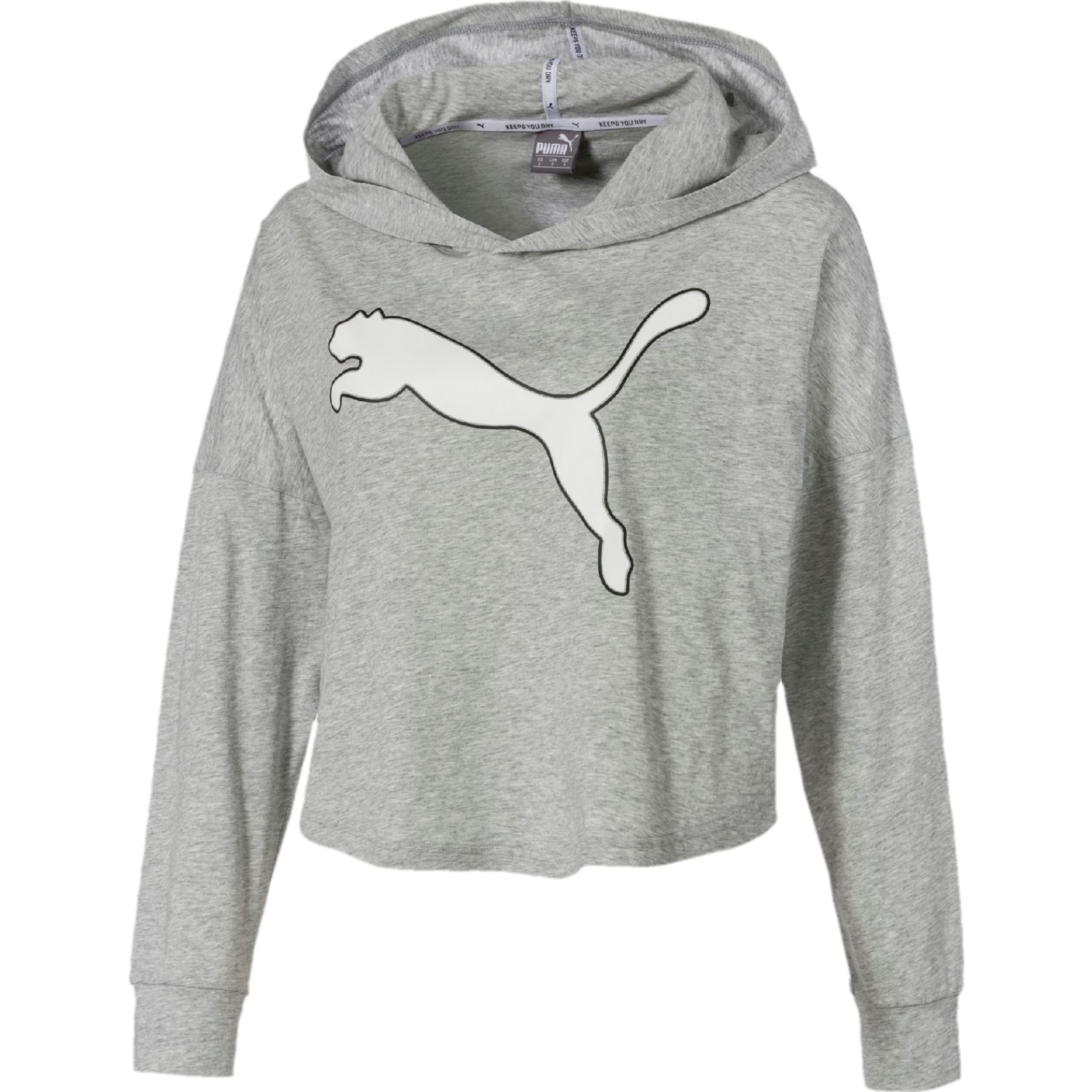 Puma modern sports cover up Gris Hoodies Deportivos