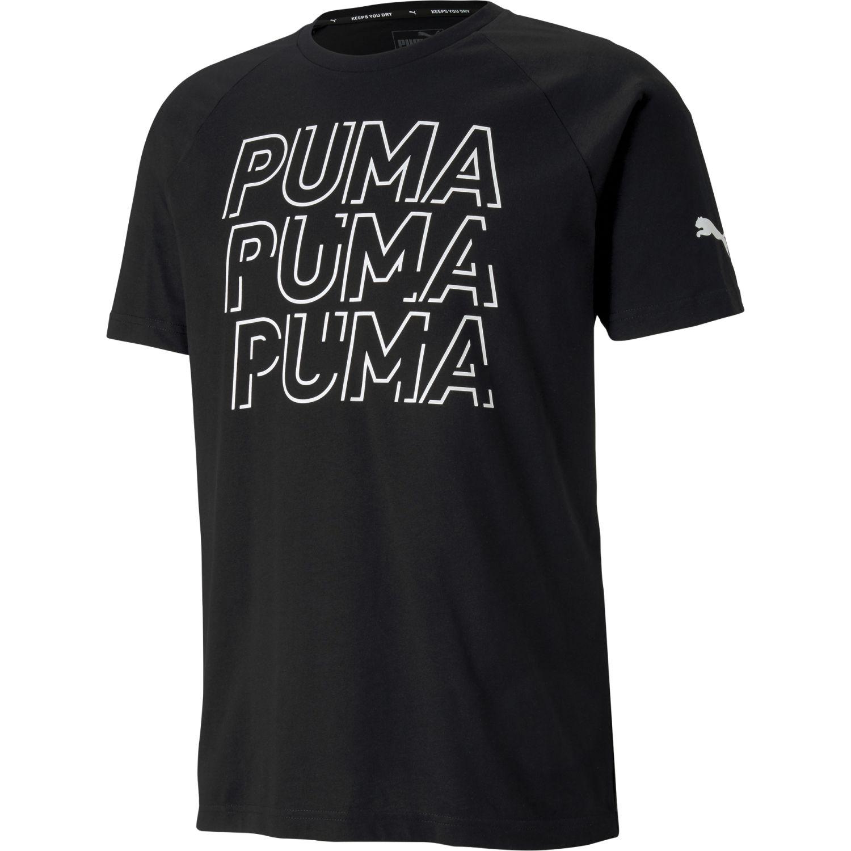 Puma Modern Sports Logo Tee Negro Camisetas y polos deportivos