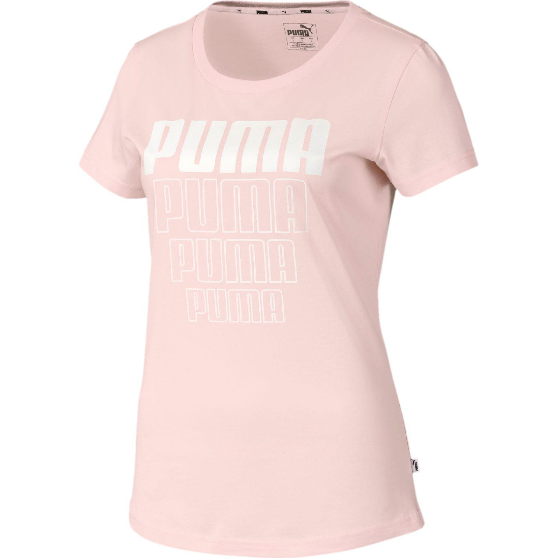 Puma Rebel Graphic Tee Melón Polos