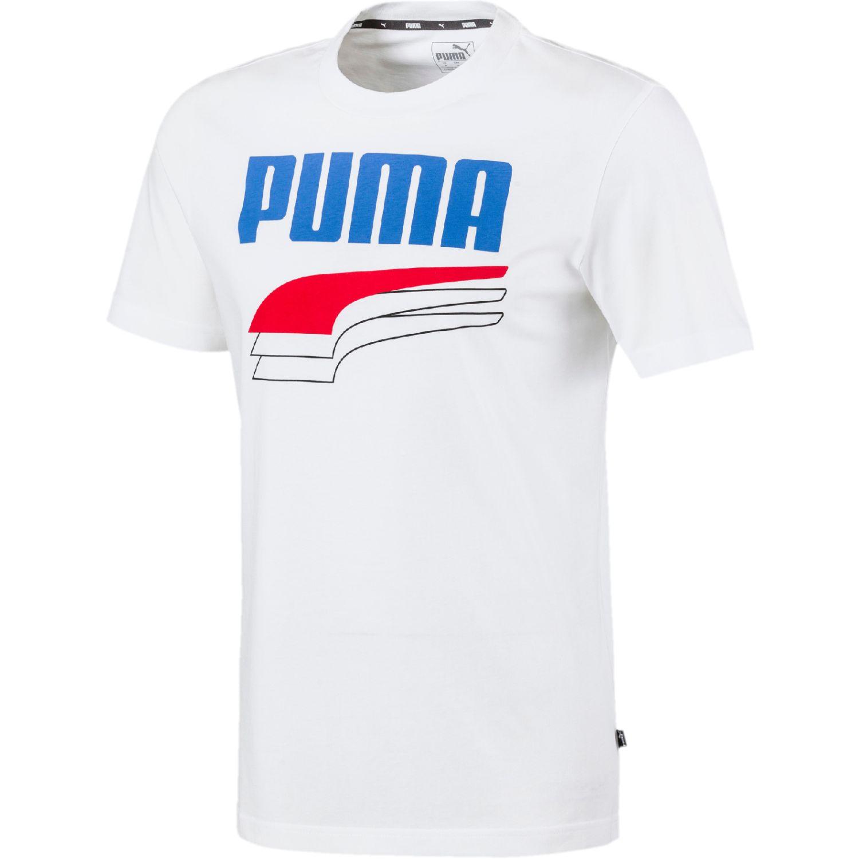 Puma Rebel Bold Tee Blanco Camisetas y polos deportivos