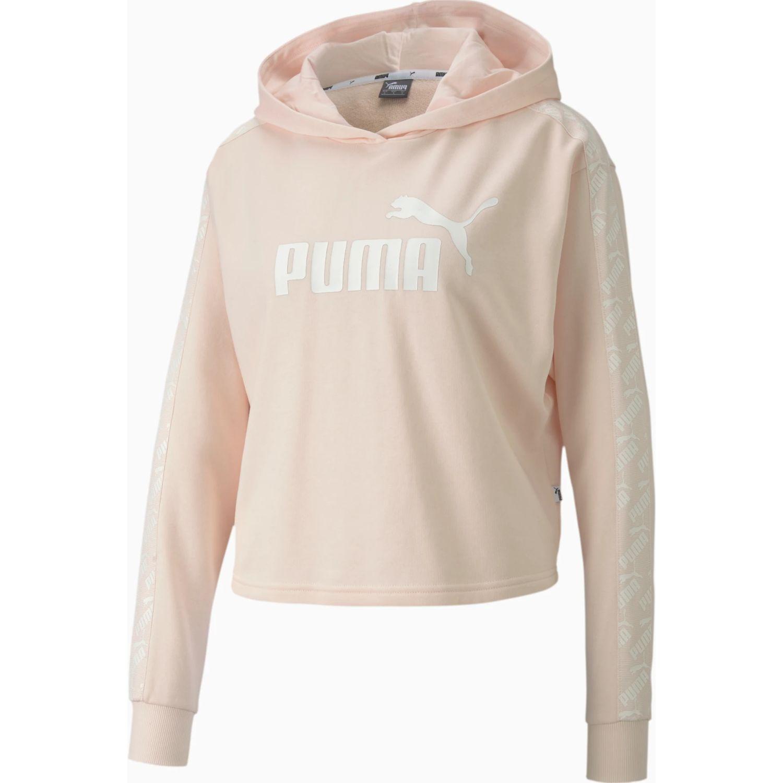 Puma amplified cropped hoody tr Melón Hoodies Deportivos