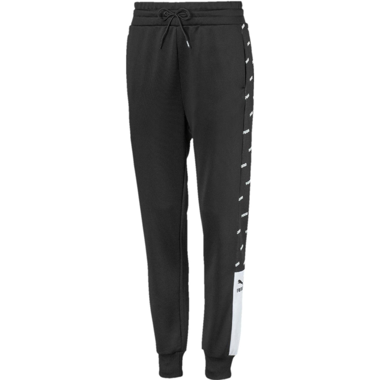 Puma track pant, aop Negro Pantalones deportivos