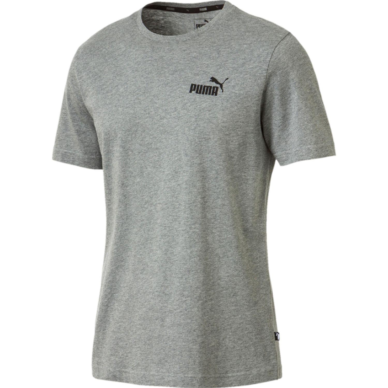 Puma ESS Small Logo Tee Gris Camisetas y Polos Deportivos