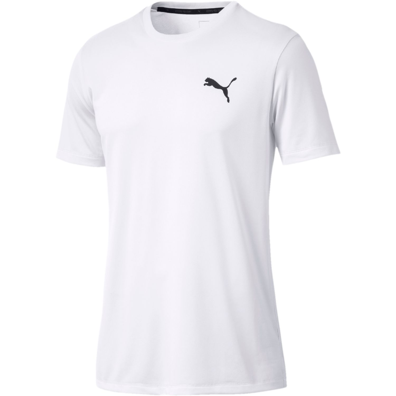 Puma Active Tee Blanco Camisetas y Polos Deportivos