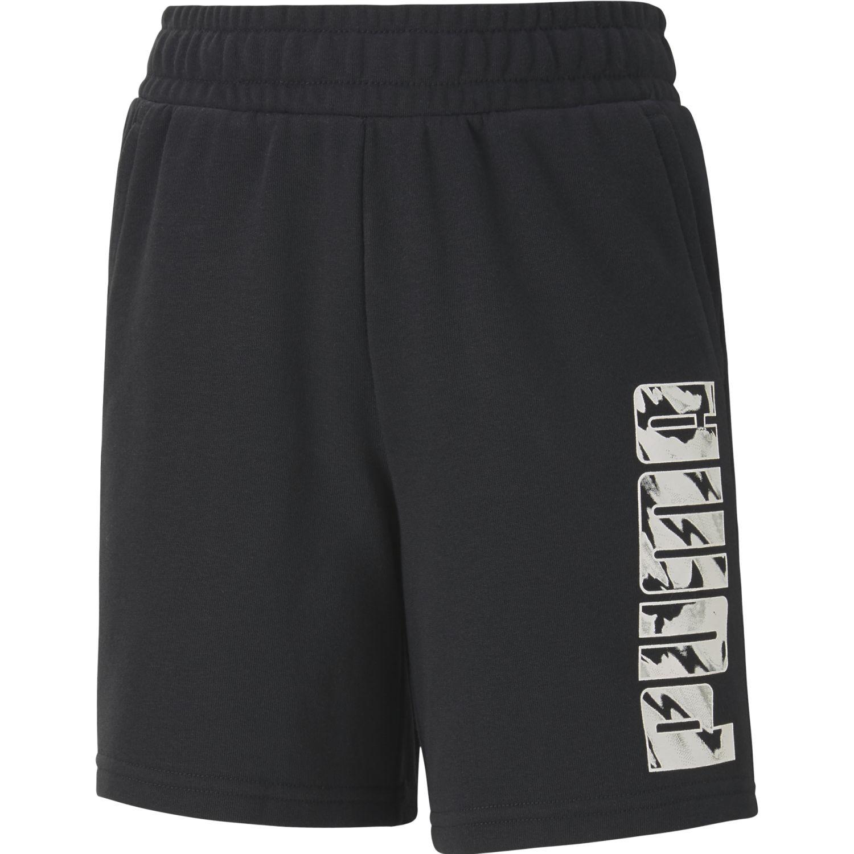 Puma Ka Sweat Shorts Tr B Negro / blanco Shorts Deportivos