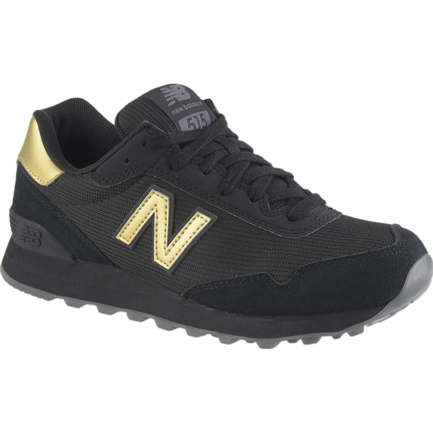 New Balance 515 Negro / dorado Walking